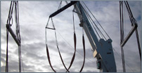 Lifting Rig Prepared for 250t Yacht